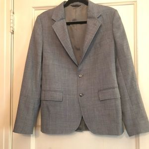 Grey Vintage Newman-Marcus tailored jacket Sz 20 R